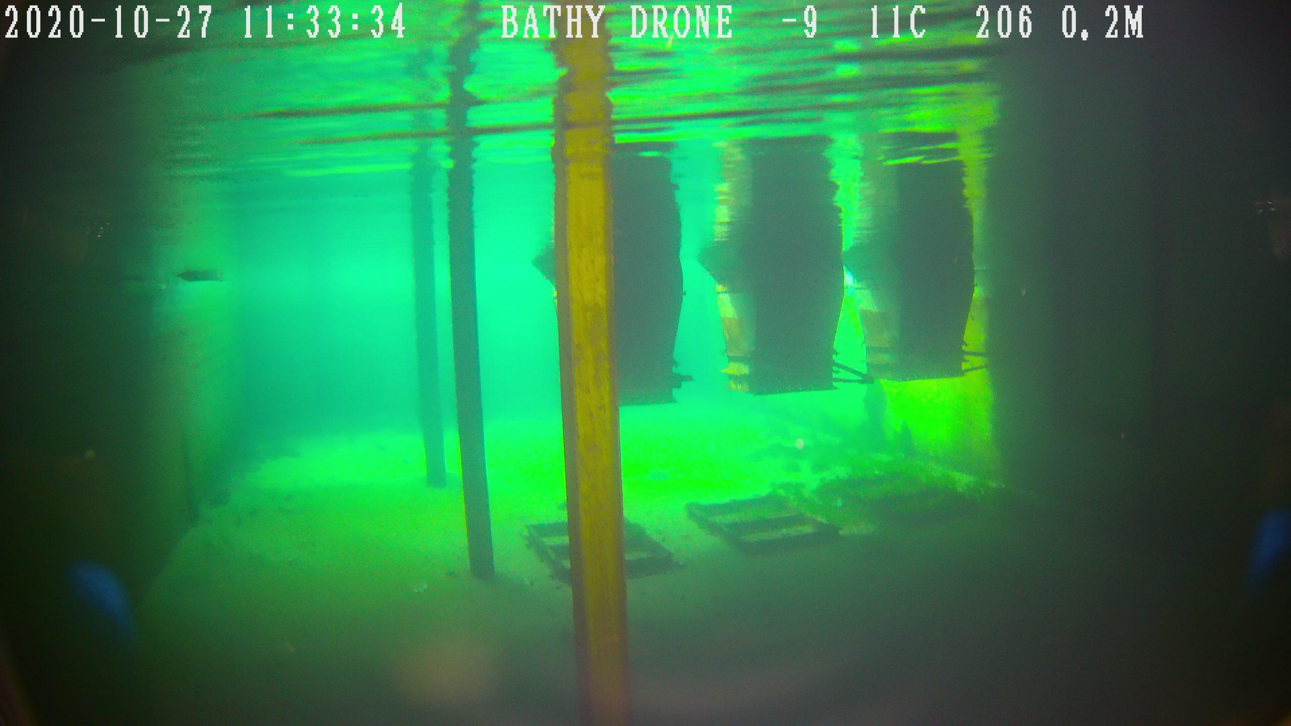 cave innondée - BATHY-DRONE-SOLUTIONS